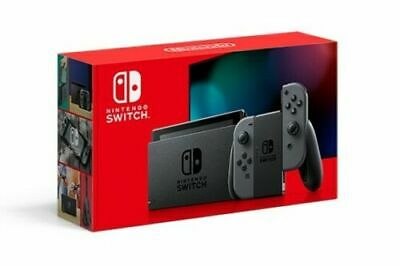$ CDN355.77 • Buy Nintendo Switch 32GB Console With Gray Joy‑Con (Improved Battery Model)