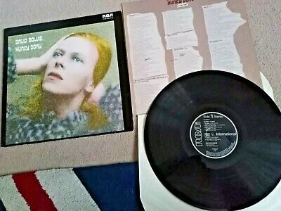 DAVID BOWIE Hunky Dory RCA INTS 5064 Import Made Germany Album Vinyl Record LP • 14.99£