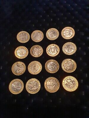 Job Lot 2 Pound Coins • 50£