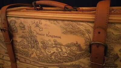Walt Disney World Resort Suitcase Carry Case Bag Trunk Classic Collectible Map • 89.99£