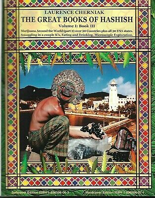AU654.13 • Buy THE GREAT BOOKS Of HASHISH V1 #3 Cherniak CANNABIS - SIGNED, LIMITED 1ST EDITION