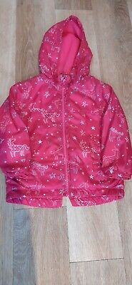 Debenhams Blue Zoo Bright Pink Girl's Raincoat Aged 3-4 Years  • 3.50£