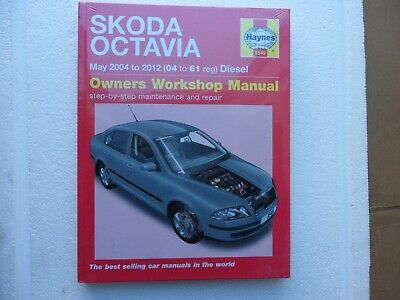 Skoda Octavia Diesel Service And Repair Manual: 04-12 By HAYNES 5549.. • 12.75£