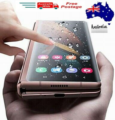 AU7.99 • Buy Samsung Z FOLD 2 HYDROGEL Full Kit Screen Protector NOTE20 Ultra S20 S10+ S8/9