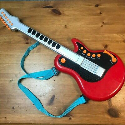 Kids Toy Electric Guitar Early Learning Centre Red Children Toy Guitar • 9.95£