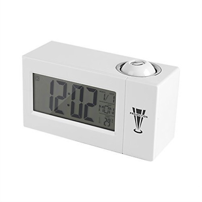 £13.06 • Buy Projection Clock, LCD Display, Sound Control, Ceiling, Wall, Backlight, Alarm