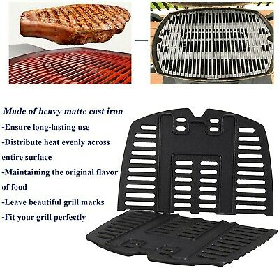 "$ CDN45.48 • Buy Weber 7644 Replacement Cooking Grid Grill Grate 17"" X 12.7"" Cast Iron Q Series"