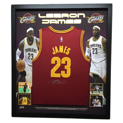 AU1995 • Buy Lebron James Hand Signed Cleveland Cavaliers Jersey Nba Basketball Lakers