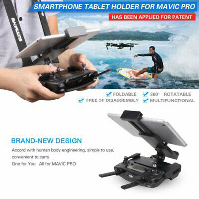 AU19.99 • Buy For DJI Mavic Air Pro Spark Foldable Tablet Phone Mount Holder Remote Controller