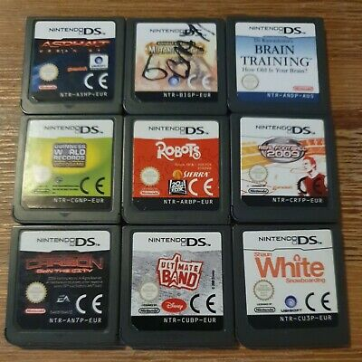 AU21.95 • Buy Nintendo DS Game Bundle (9 Games) Free Post