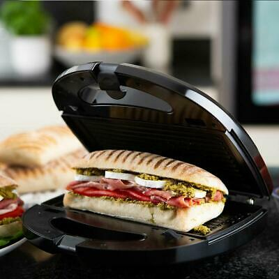 3 In 1 Sandwich Waffle Panini Toaster Grill Snack Maker Interchangeable Plates • 24.99£