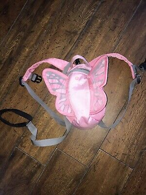 Girls LittleLife Butterfly Toddler Harness Reins Bag 2-4 Years • 10£