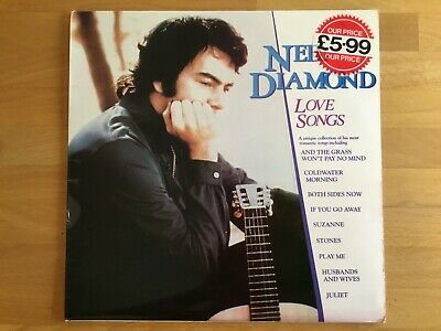 Neil Diamond - Love Songs - Vinyl LP • 2.50£