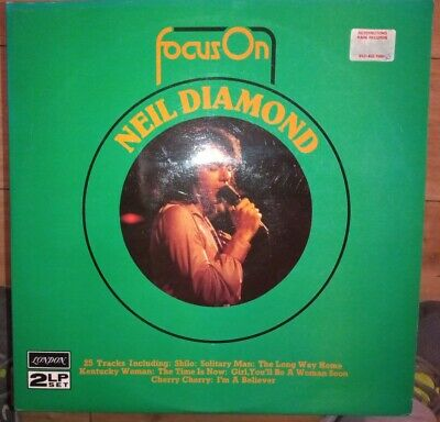 Neil Diamond - Focus On Neil Diamond - Double LP - Vinyl • 3£