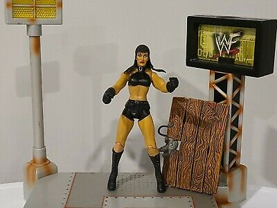 $ CDN24.09 • Buy Chyna 2000 WWF Jakks Titan Tron Live Wrestlemania Action Figure W Accessory WWE