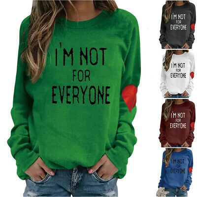 $18.99 • Buy Women's I'm Not For Everyone Valentine's Day T-Shirt Sweatshirt Pullover Tops