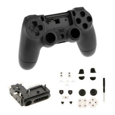AU15.25 • Buy Full Shell Kits Replacement Cover Case Buttons Audio   For PS4 Controller