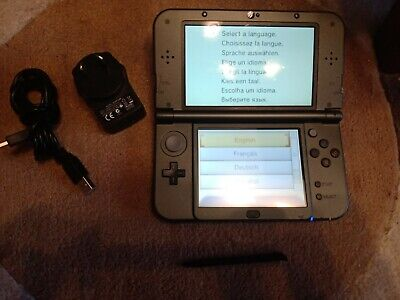 AU239 • Buy 'NEW' Nintendo 3DS XL Console (Deep Grey) + Charger