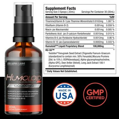 $41.99 • Buy Anabolic Testosterone Booster Build Muscle No/Hgh 2 Bottle (2OZ)