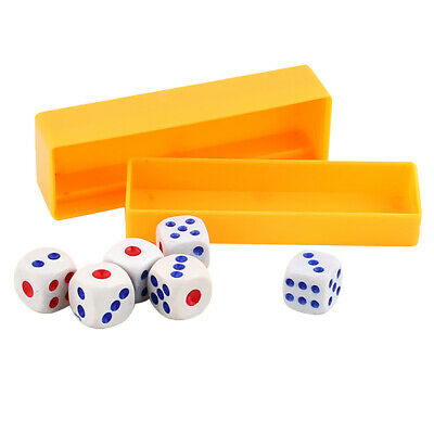 £3.73 • Buy Magic Trick Tapping Loaded Dice Rolls Exact Numbers Toy Prediction Box Props