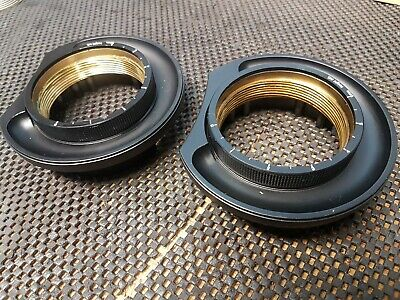 £60 • Buy 2 X Technics SL1200 1210 Tonearm Base Outer Ring And Height Adjuster Ring