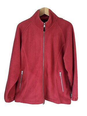 Unisex Peter Storm Thick Red Fleece With Zipped Side Pockets    Size M • 15£