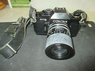 $ CDN187.47 • Buy Contax RTS 35mm SLR Film Camera W/Contax, Real Time Winder &Tamron SP Lens