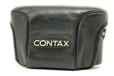 $ CDN112.96 • Buy 【EXC+++++】  Contax Genuine Semi Hard Leather Case For T3 Film Camera  From JAPAN