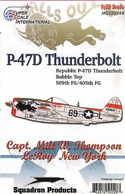 £12.99 • Buy SS32248 - Superscale Decals 1:32Republic P-47D Thunderbolt 'Balls Out'