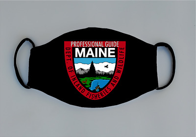$12.99 • Buy Maine Dept. Of Inland Fisheries And Wildlife Reusable Face Mask LEO Game Warden