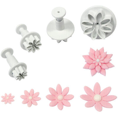 PME DAISY MARGUERITE Flower Plastic Plunger Cutter For Sugarcraft Icing Gumpaste • 5.39£