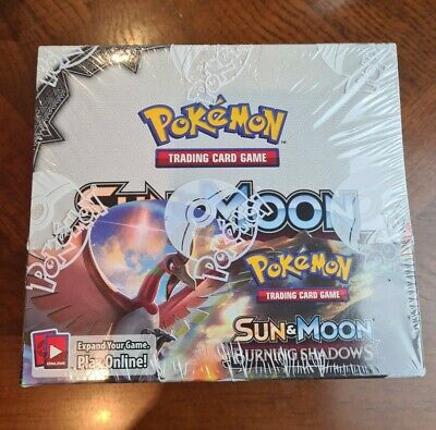 AU544.95 • Buy Burning Shadows Booster Box AUTHENTIC SEALED Pokemon Booster Box Pack Sun Moon