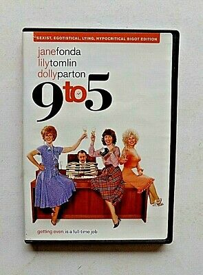 AU15.30 • Buy 9 To 5 DVD Dolly Parton Lily Tomlin Jane Fonda