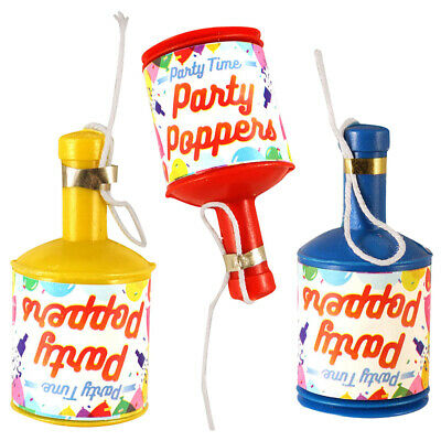 £6.99 • Buy Party Poppers Lockdown Birthday Supplies Bag Filler Decoration Wedding Favours