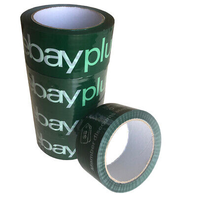 AU11.80 • Buy 5 Rolls X Ebay Packaging Tape Quality Packing Tape Plus Branded 48mm X 68mtr