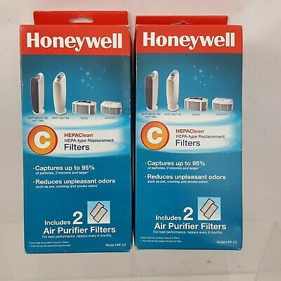 Honeywell HEPAClean Air Purifier Replacement Filter 2 Boxes HRF-C2/Filter (C)   • 28.21£