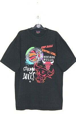 £65 • Buy CHICAGO BULLS X MAGIC JOHNSON 90'S VINTAGE PRINTED ALL OVER T-SHIRT,SIZE:XL