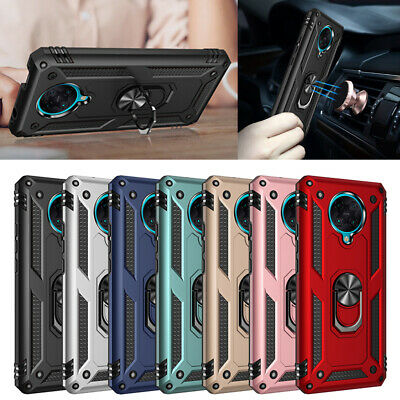 AU4.01 • Buy For Xiaomi Poco F2 Pro Case Magnetic Shockproof Armor Ring Holder Stand Cover