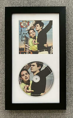 $ CDN213.03 • Buy Lana Del Ray Signed Autograph Norman Rockwell Framed Cd Display - Ready To Hang!