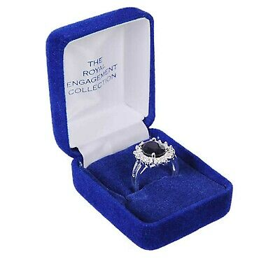 £11.99 • Buy Kate Middleton The Royal Engagement Collection Silver Plated Ring Size L New Box