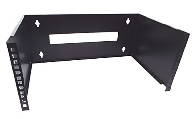 £34.26 • Buy CNAWEB 4U 19-Inch Hinged Network Wall Mount Equipment Rack Bracket - Black