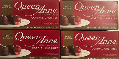 $22.95 • Buy Queen Anne Milk Chocolate Covered Cordial Cherries (Pack Of 4) BB 2/6/22