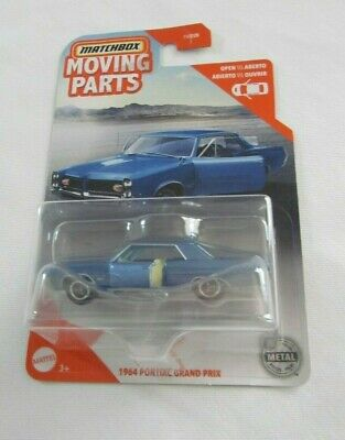 $3.99 • Buy Matchbox 2021 Moving Parts - 1964 Pontiac Grand Prix Metalic Blue