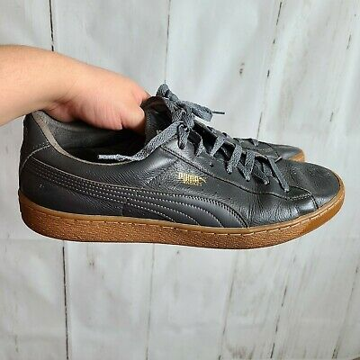 AU32 • Buy Puma Basket Charcoal Sneakers Size 13 Leather Shoes