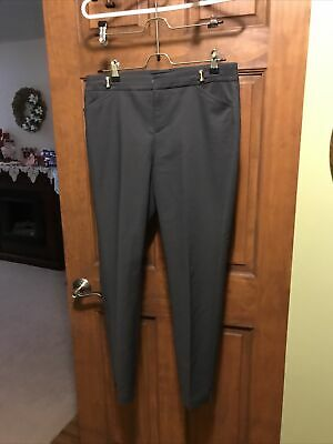 $ CDN12.65 • Buy Ivanka Trump Dress Pants Sz 8 Charcoal Classic Pants