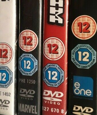 Rated 12 DVD Multi Listing Choose From List Crime Comedy Action Adventure Horror • 2.95£