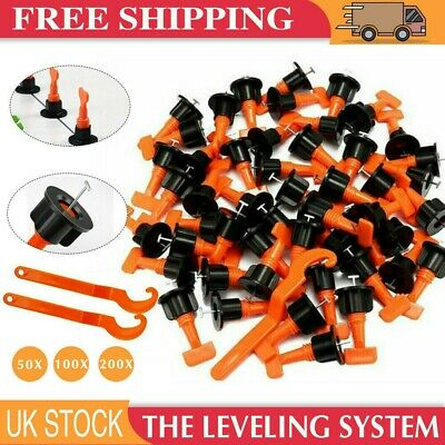 £12.99 • Buy 50-200 Floor Wall Tile Levelling System Leveler Tools Set Reusable Construction
