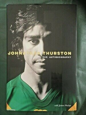 AU60 • Buy JT : Johnathan Thurston Autobiography SIGNED Hardcover BOOK - AS NEW