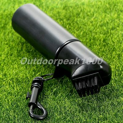 £7.58 • Buy Golf Club Brush Cleaner Scrub Cleaning Tool With Refillable Water Bottle