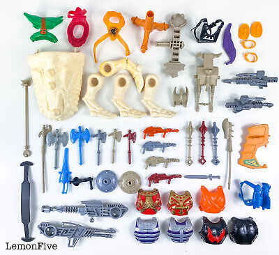 $198.35 • Buy MOTU - LOT OF WEAPONS AND PARTS - Original Vintage Mattle Replacement Parts #1